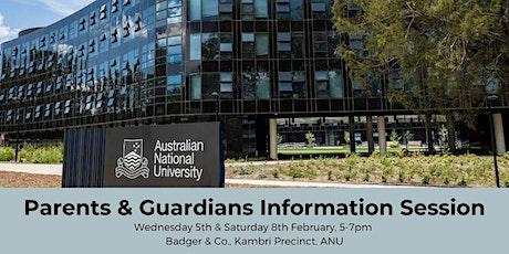 Parents & Guardians Information Session tickets
