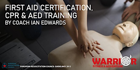 First Aid Certification, CPR & AED Training May 31, 2020 tickets
