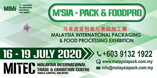 Malaysia International Packaging & Food Processing Exhibition
