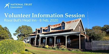 Royal Bull's Head Inn - Volunteer Information Session - 8th Feb 2020 tickets