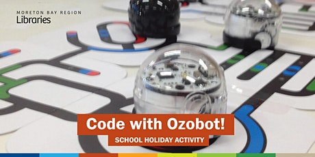 Code with Ozobot! (7-11 years) - Burpengary Library tickets
