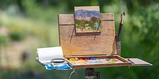 Plein Aire Painting & Garden Tour