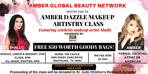 AMBER DAZZLE  MAKEUP ARTISTRY CLASS