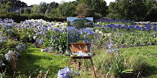 Watercolors, Wine, & Garden Tour