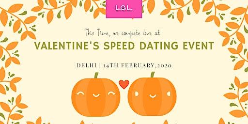 Valentine Day Speed Dating DEL Feb 14