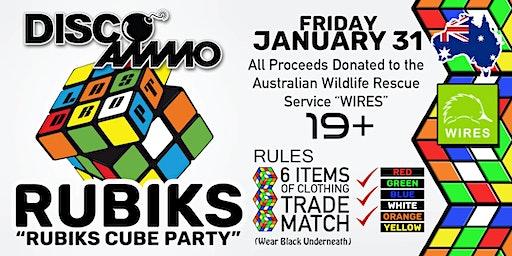 "DISCO AMMO - ""Rubiks"" Cube Party"