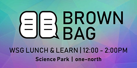 Brown Bag: Innovation by Design Sprint: A Hands-On Crash Course - SUTD tickets