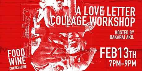A Love Letter Collage Workshop tickets