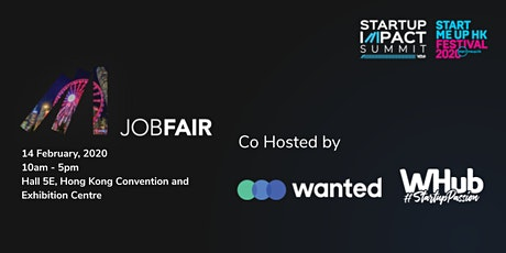 Hong Kong Tech & Startups Job Fair #13: Creating Impact tickets