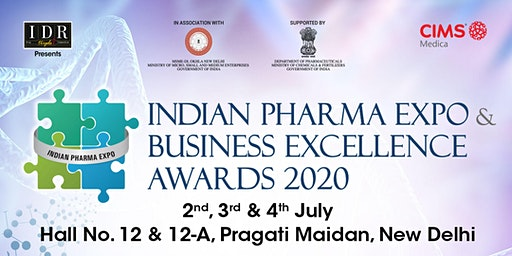 INDIAN PHARMA EXPO & BUSINESS EXCELLENCE AWARDS 2020