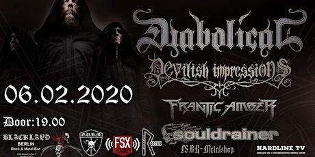 Diabolial(SWE) / Devilish Impressions(PL) Tickets