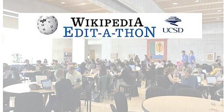 International Women's Day Wikipedia Edit-a-Thon at UCSD tickets