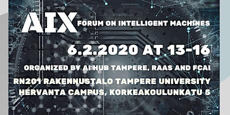 AIX Forum on Intelligent Machines tickets