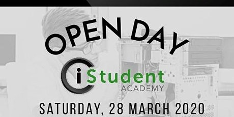 iStudent Academy JHB: Open Day 28th March 2020 tickets