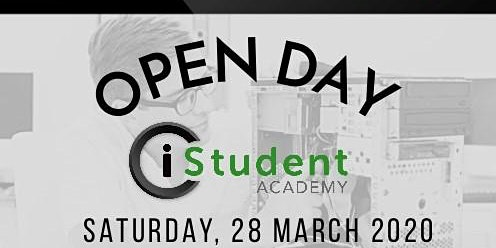 iStudent Academy JHB: Open Day 28th March 2020