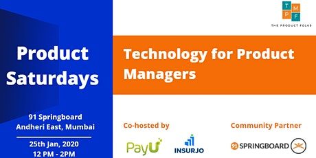 TPF x PayU | Technology for Product Managers | Mumbai tickets