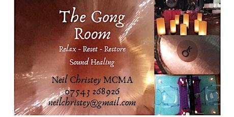 Relax, Reset, Restore - Gong Bath tickets
