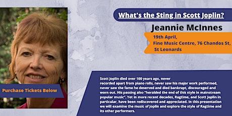 What's the Sting in Scott Joplin? tickets