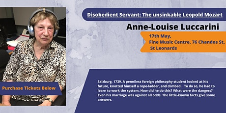 Disobedient Servant: The unsinkable Leopold Mozart tickets