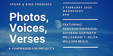Spoke & Bird Presents: Photos, Voices, Verses tickets