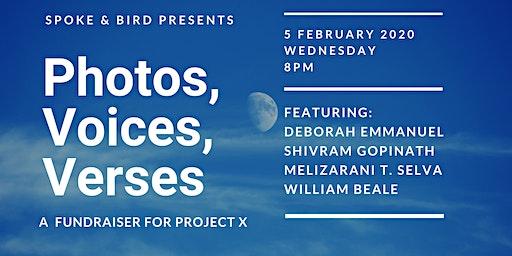 Spoke & Bird Presents: Photos, Voices, Verses