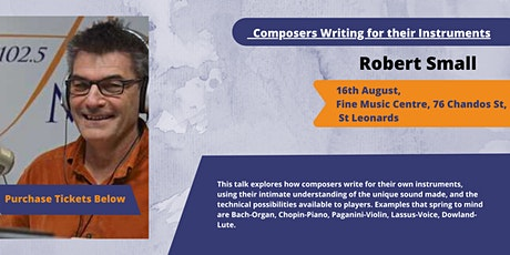Composers Writing for their Instruments tickets