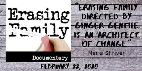Arizona Encore Premier Screening of ERASING FAMILY Documentary tickets