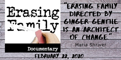 Arizona Encore Premier Screening of ERASING FAMILY Documentary