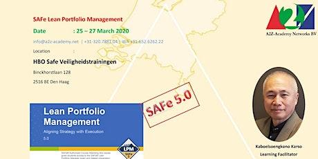 SAFe Lean Portfolio Management LPM2004 tickets