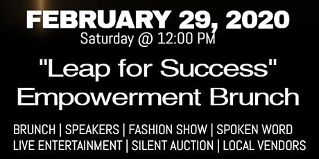 LEAP FOR SUCCESS BRUNCH BENEFITING DRESS FOR SUCCESS tickets