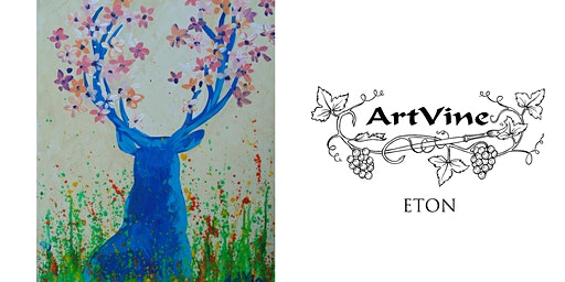 ArtVine, Sip & Paint in Eton, 4th March 2020