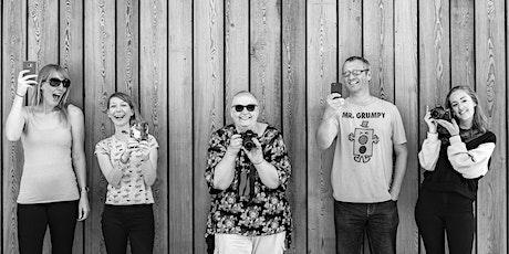 Tech-free Portrait Photography Workshop  tickets