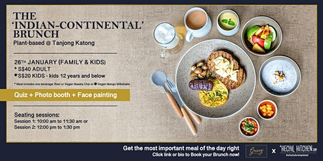 The 'Indian-Continental' Brunch @GravyTanjongKatong tickets
