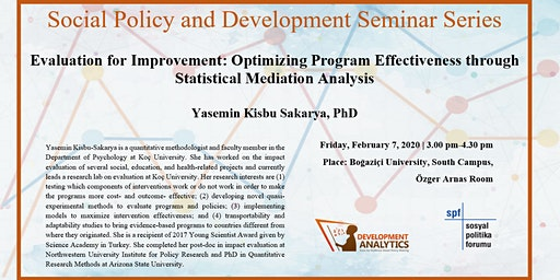 Social Policy and Development Seminar Series