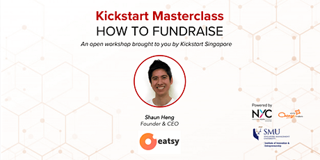 Kickstart Masterclass: How to fundraise tickets