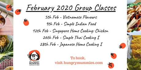 Singapore Home Cooking - Chicken Recipes tickets