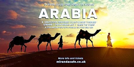 Supper Club: One Night in Vegan Arabia tickets