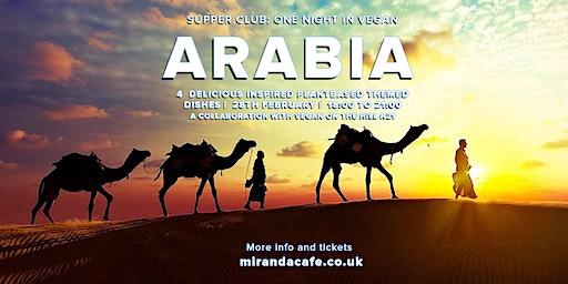Supper Club: One Night in Vegan Arabia
