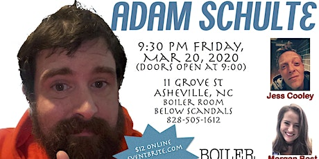 Adam Schulte at the Boiler Room tickets