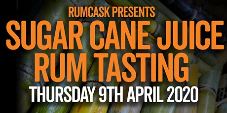 Sugar Cane Juice Rum Tasting by RumCask tickets