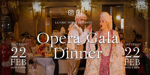 OPERA GALA DINNER  - The great italian music -