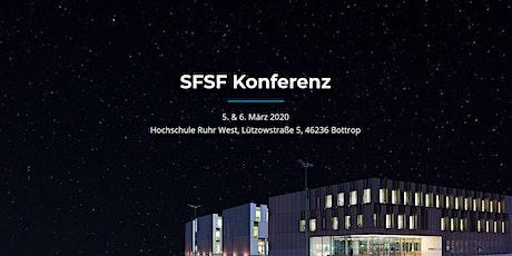 Offener Abend im Rahmen der SFSF-Konferenz Tickets