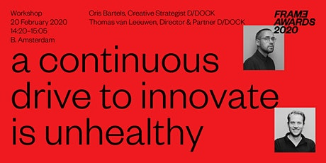A continuous drive to innovate is unhealthy tickets