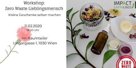 Zero Waste Lieblingsmensch - Workshop Tickets