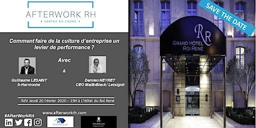 AfterWorkRH Aix-Marseille - 20 février 2020 - Comment faire de la culture d'entreprise un levier de performance?