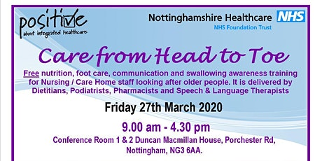 Care from Head to Toe - March 2020 tickets