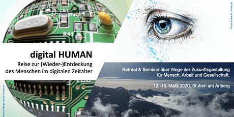 digital HUMAN: Re-discovering humanity in the digital age.  A dialogue and skiing retreat  tickets