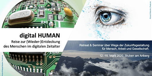 digital HUMAN: Re-discovering humanity in the digital age.  A dialogue and skiing retreat