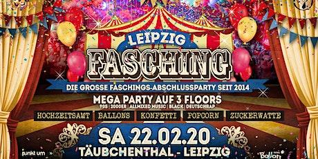 Leipzig Fasching 2020 - Die verrückte Faschingsabschlussparty! Tickets