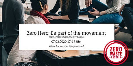 Zero Hero - Be Part of the Movement tickets